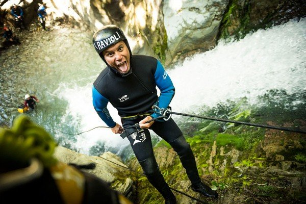canyoning queenstown