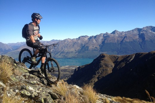 Heli Mountain Biking
